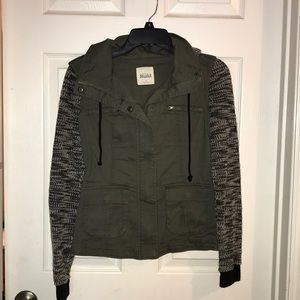 XS Army green jacket